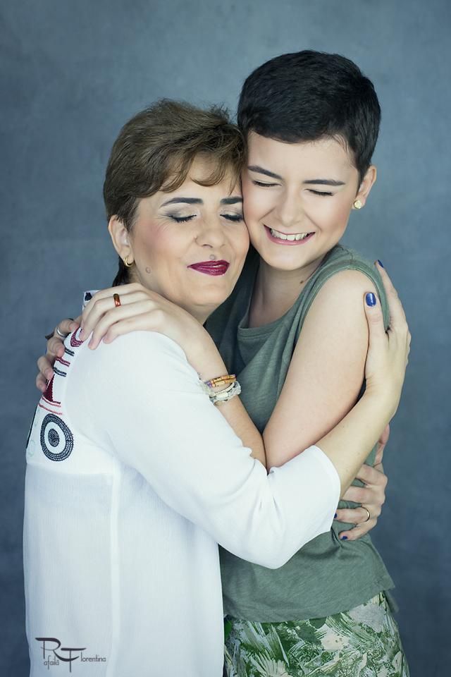 Sedinta foto cu mama mea